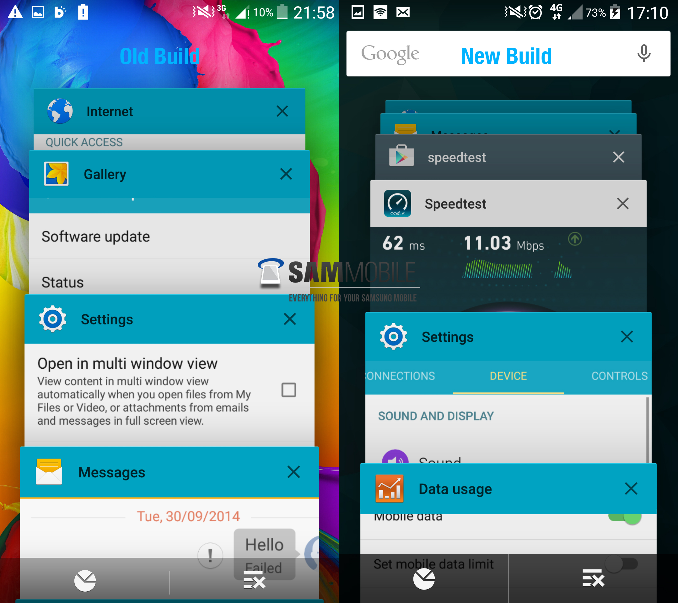 Exclusive: Samsung's progress with Android Lollipop update for the Galaxy S5 - SamMobile