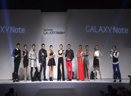 Samsung Galaxy Note 4 Fashion Show Taiwan Feature 190 x 140