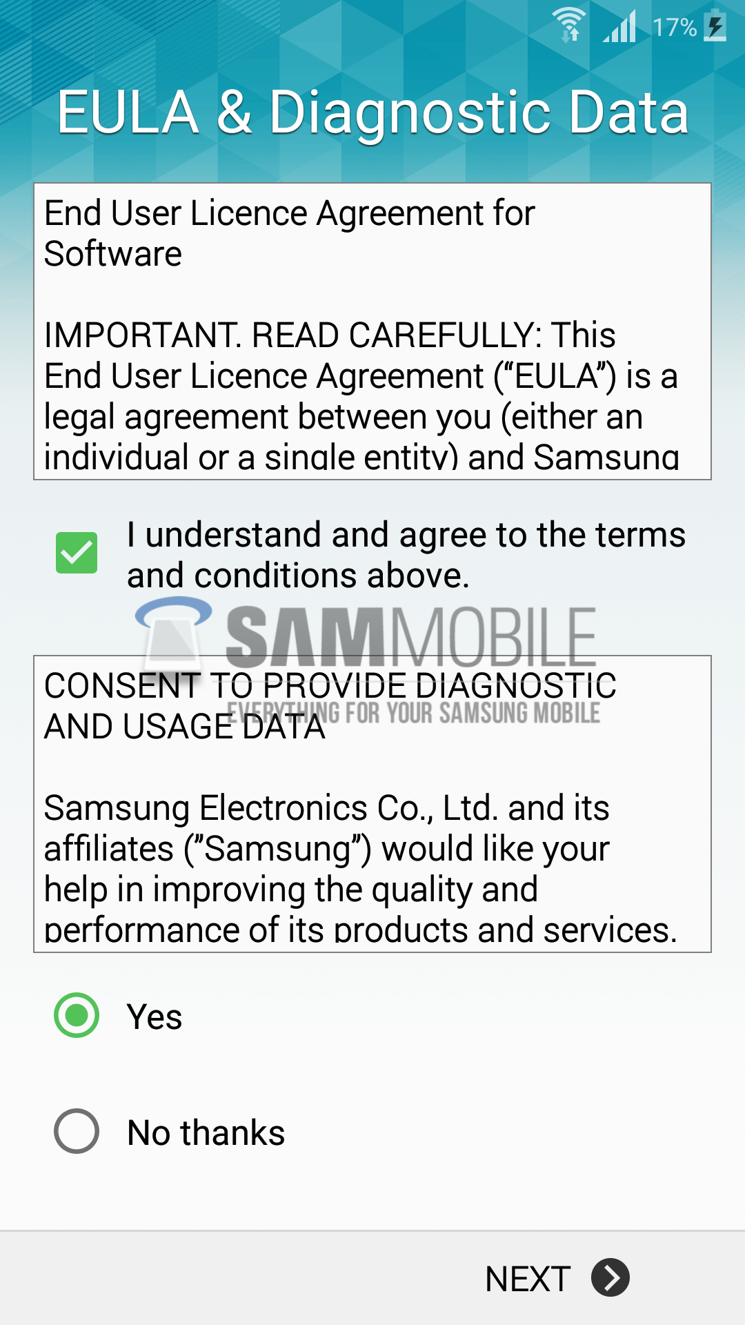 Samsung Galaxy S5 (SM-G900F) receives Android 5 0 Lollipop