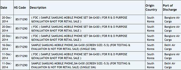 Leak Samsung SM-G430 139