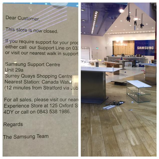 samsung-flagship-store-london-closed