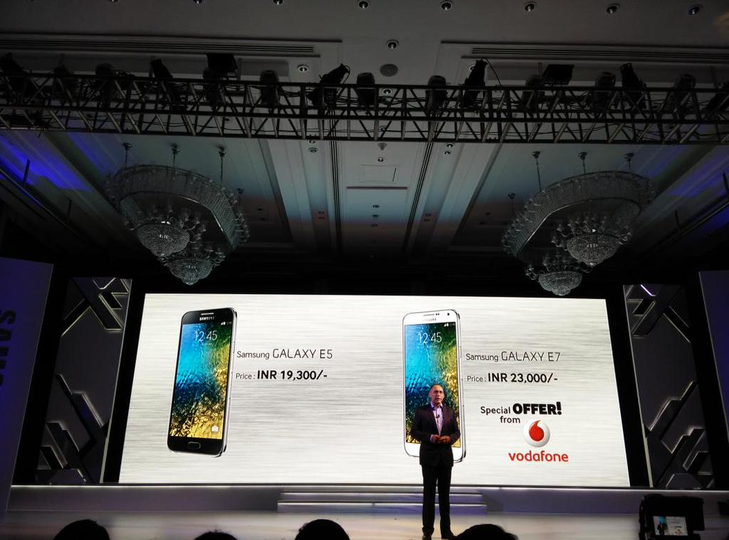 Samsung Galaxy E5 and Samsung Galaxy E7