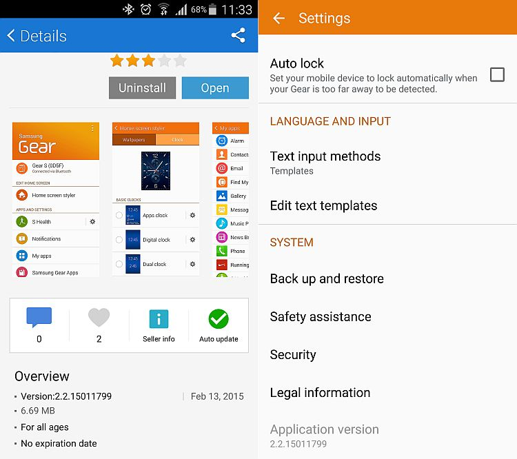 Samsung Gear Manager gets an update - SamMobile