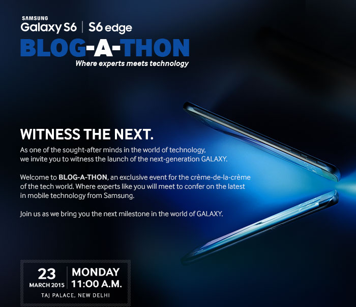 Samsung Galaxy S6 Edge Launch India