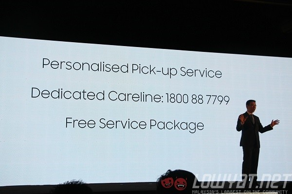 Samsung Electronics Malaysia promises pick-up service for GS6, S6 edge