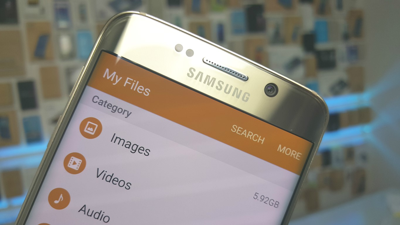 Google Drive file integration for the Galaxy S6 and S6 edge