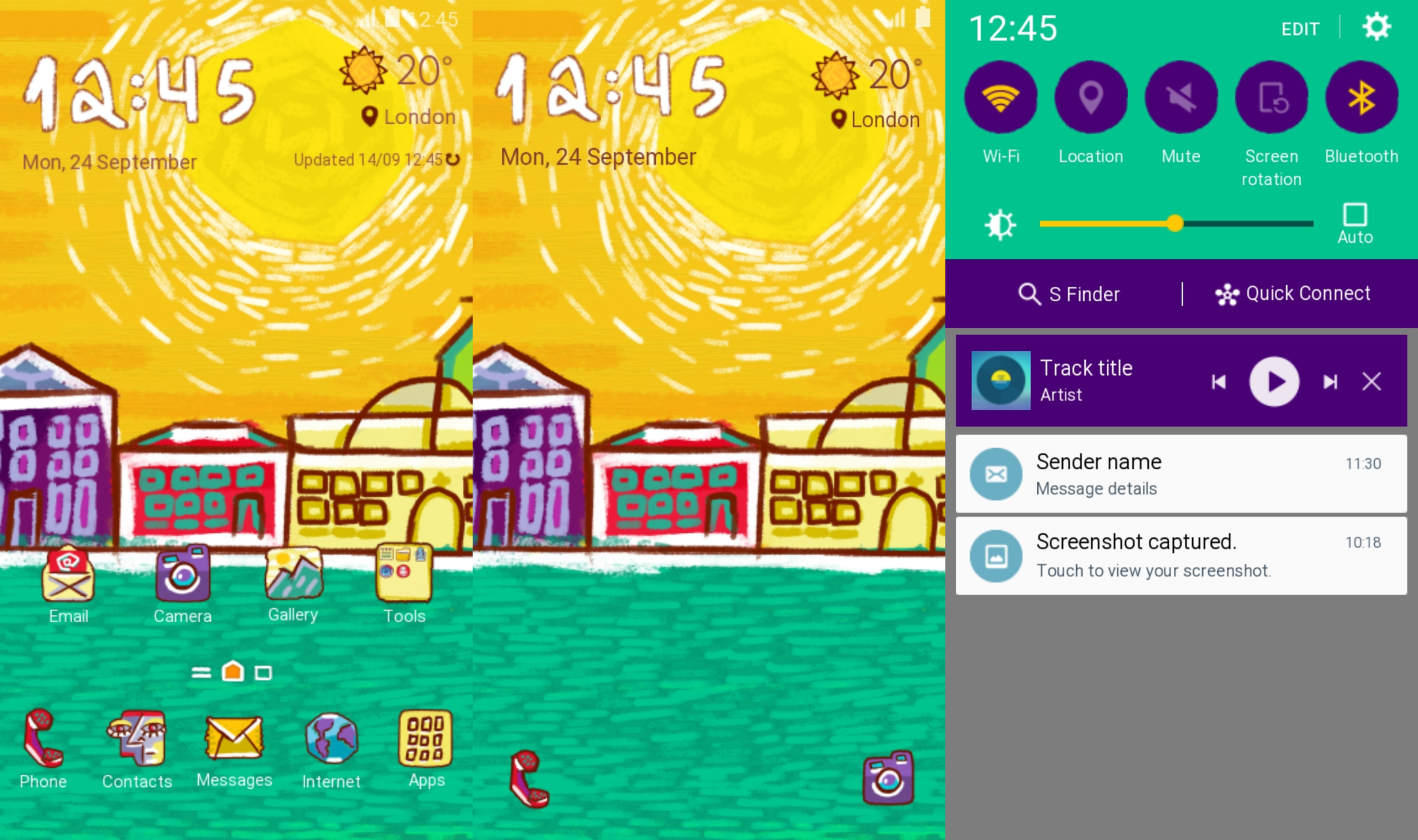 Themes Thursday: Ten new themes launched in the Samsung