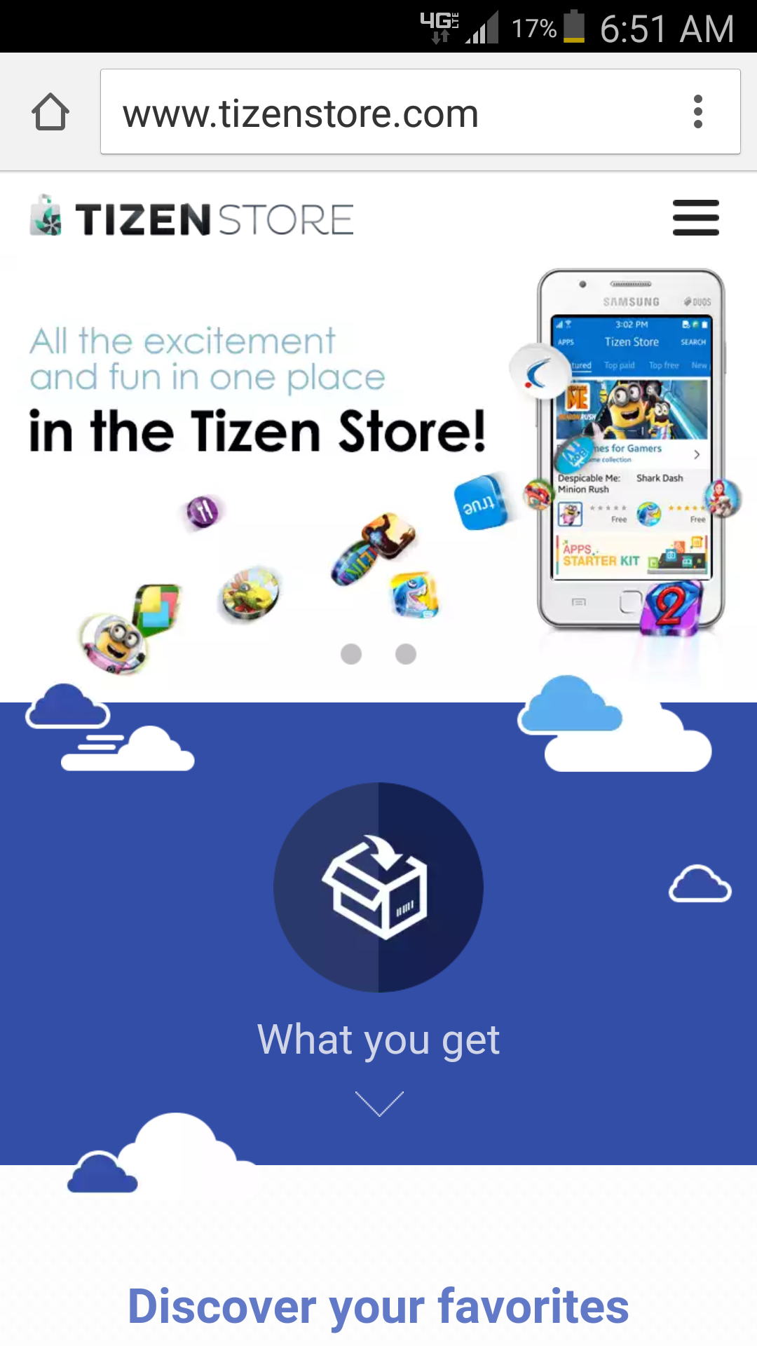 Tizen Store global US