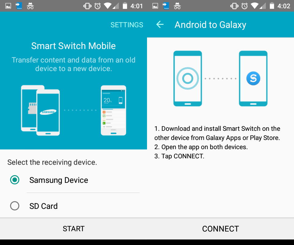 smart switch android