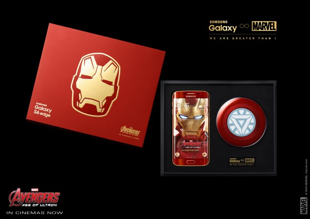 Updated] Galaxy S6 edge Iron Man Limited Edition officially launched