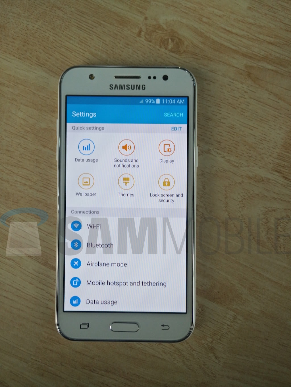Samsung Galaxy J5 Imagem Live