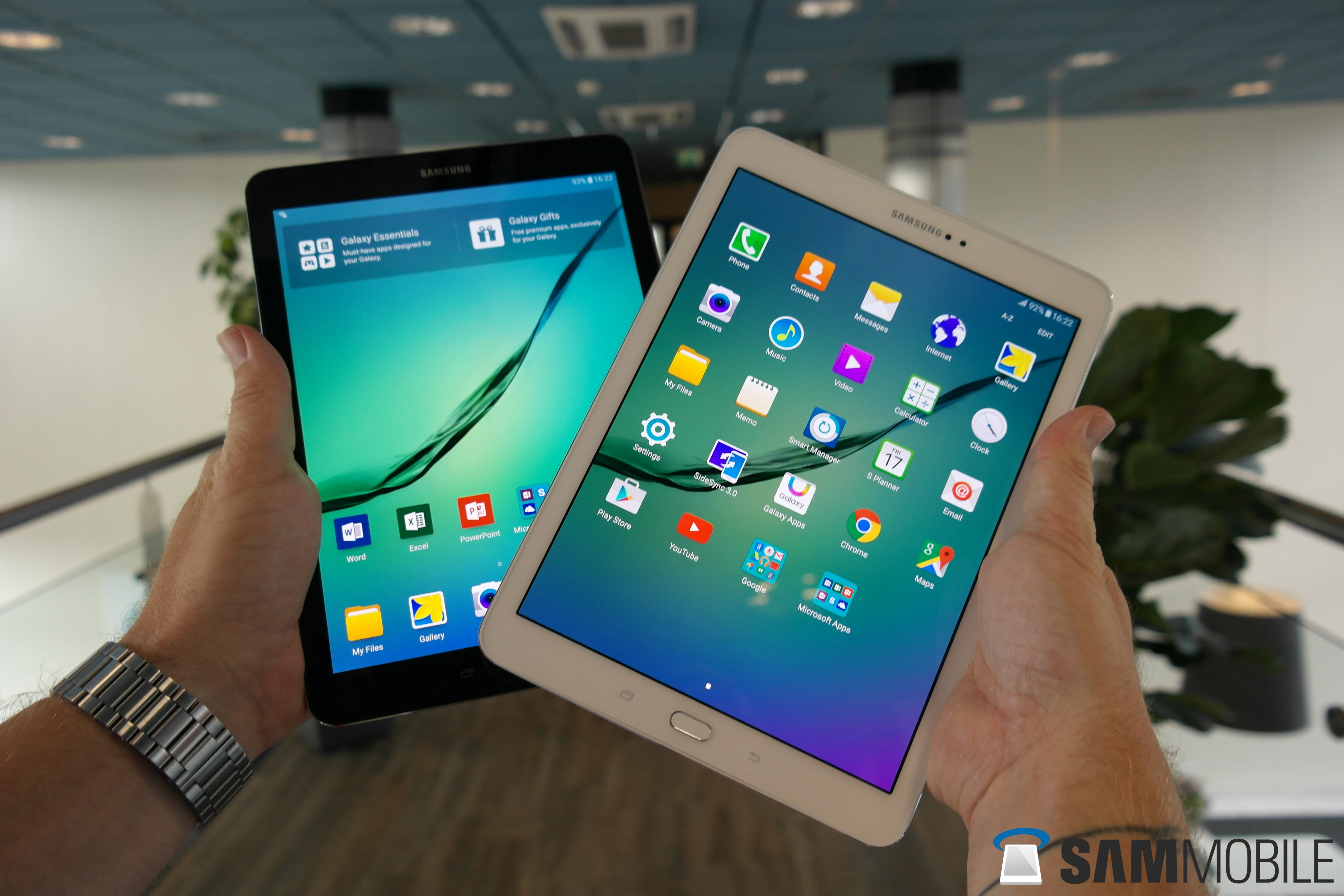samsung galaxy tab s2 hands on sammobile sammobile. Black Bedroom Furniture Sets. Home Design Ideas