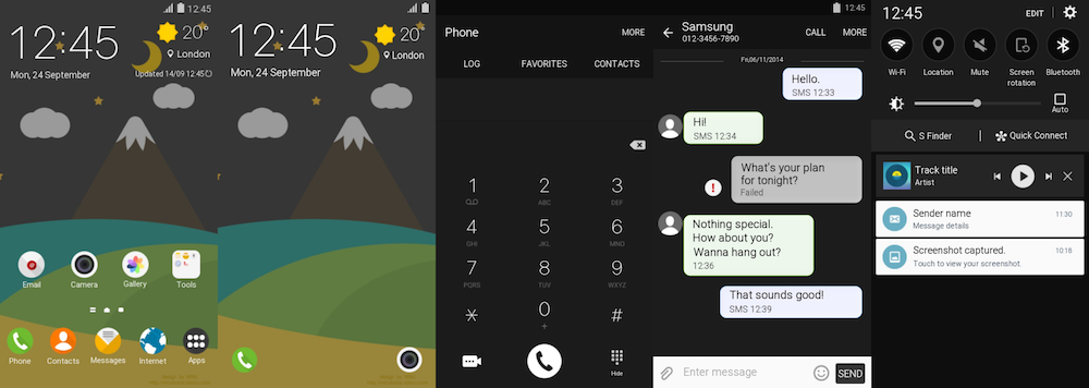 Themes Thursday Eight New Themes Released By Samsung In The Theme Store Today Sammobile Sammobile