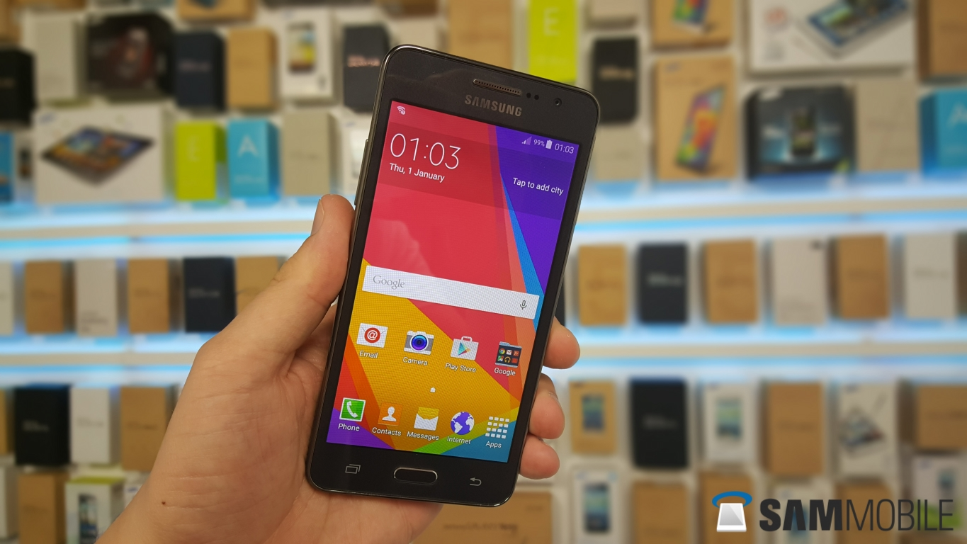 Samsung Galaxy Grand Prime gets Android 5 0 in Russia - SamMobile