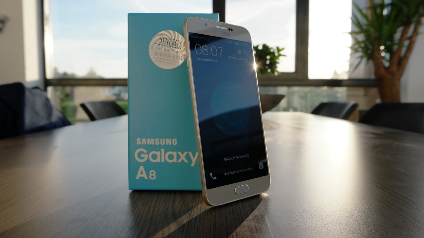 All in all, the Galaxy A8 is extremely well built. It feels sturdy and ...