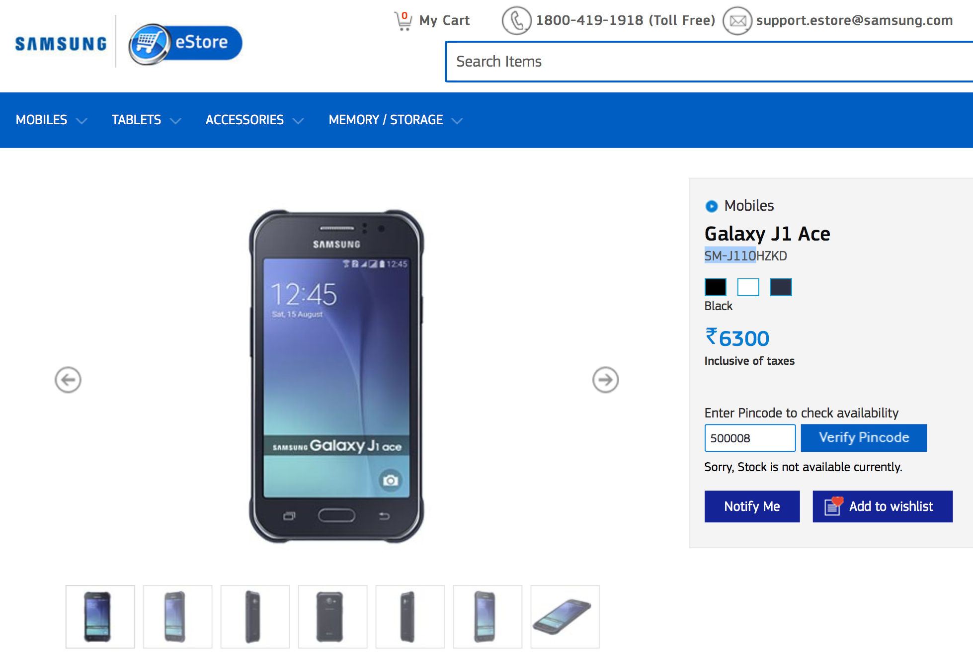 Samsung Galaxy J1 Ace Now Available In India - Sammobile