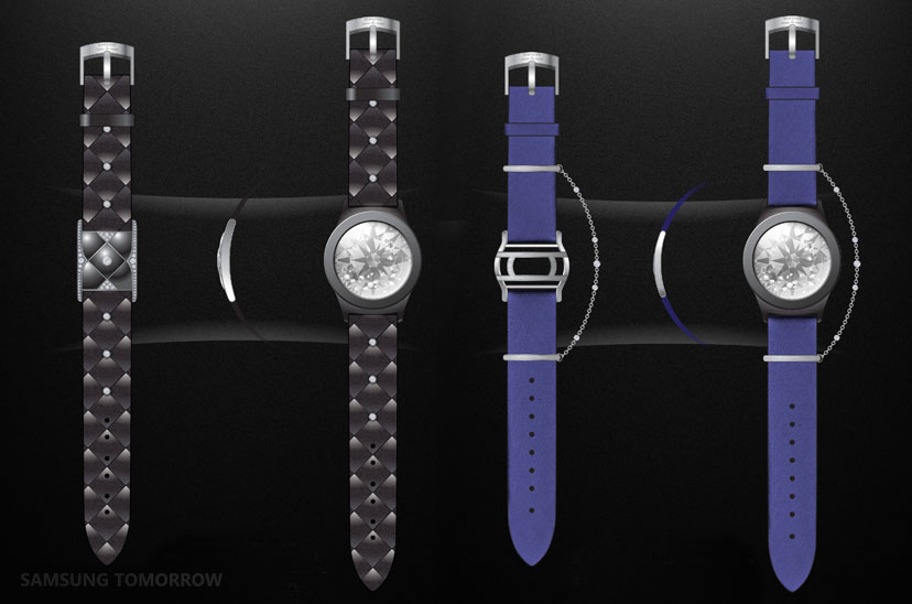 Chow Tai Fook Watchbands For Samsung Gear S2