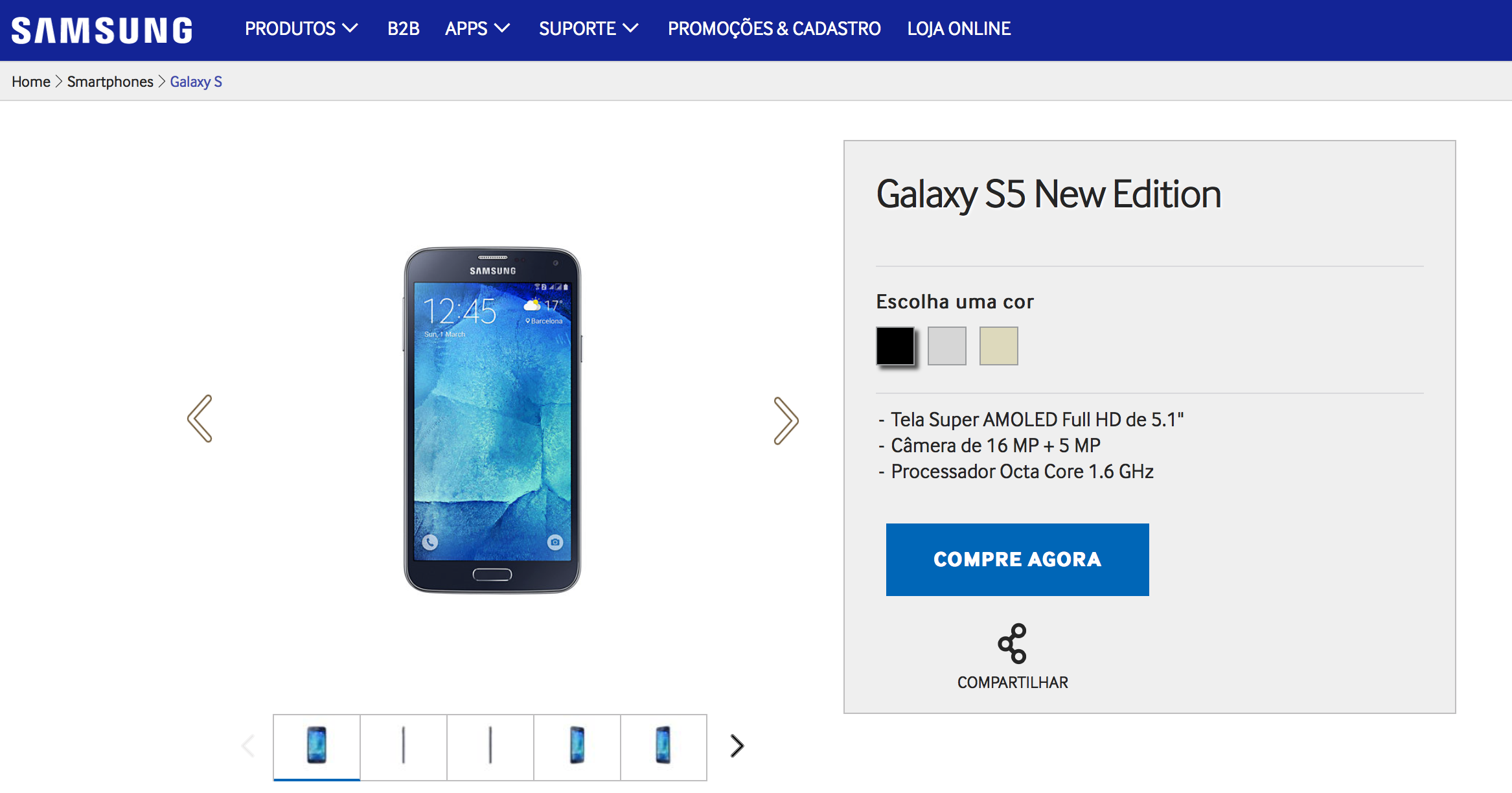 Samsung Galaxy S5 New Edition Launched In Brazil Is A Rebranded Galaxy