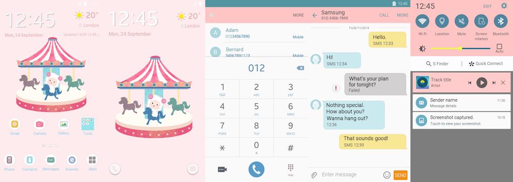 THÈMES AVENGERS ET DC !!!!! (Pour Thèmes Store Samsung ) Samsung-Galaxy-Theme-BubbleYang-In-Pink
