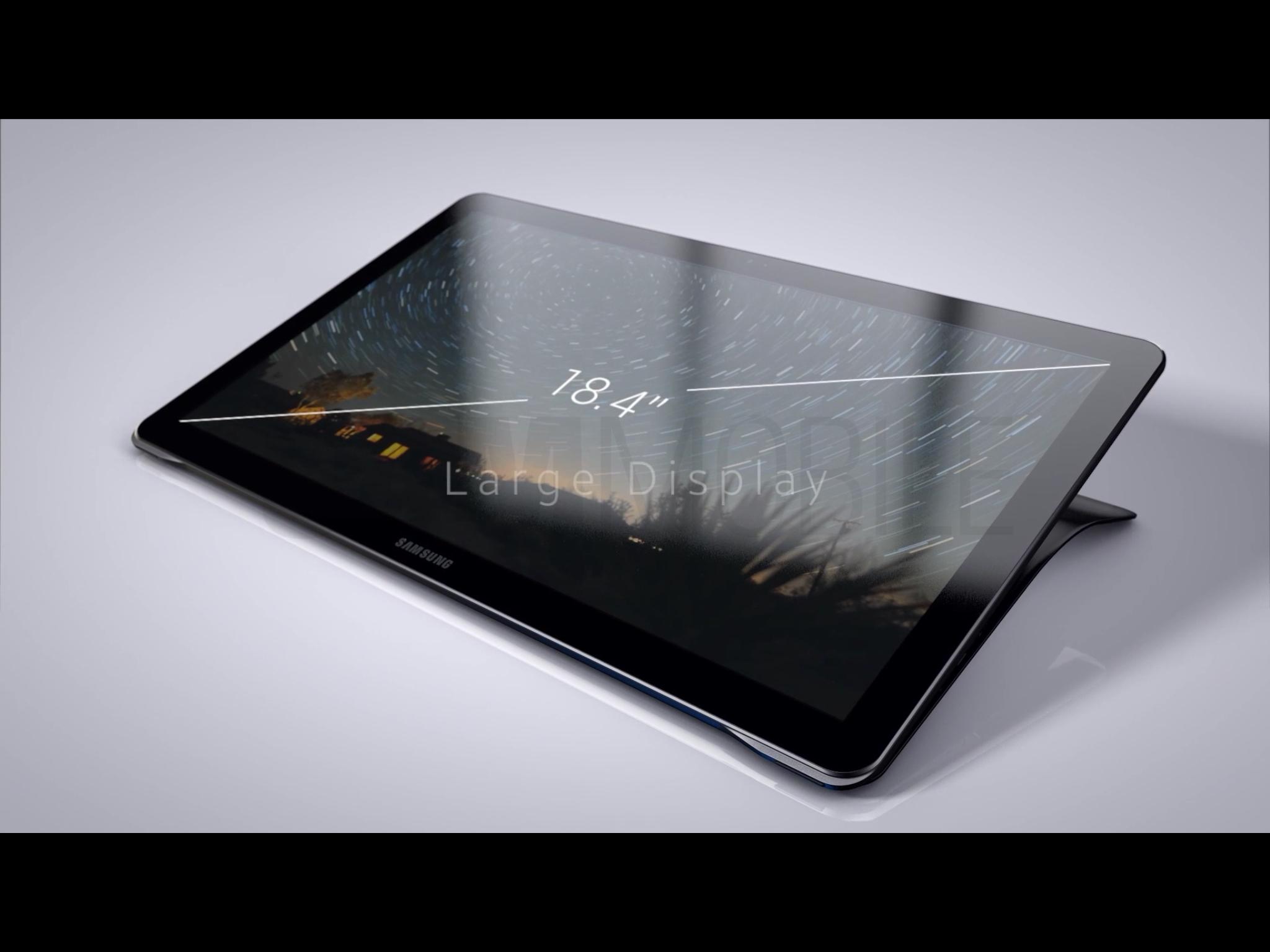 Samsung គ្រោងនឹងបញ្ចេញ Tablet 18.4 អ៊ីង នាពេលខាងមុខ