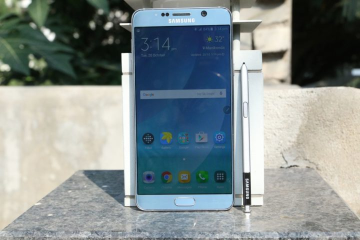 Samsung launches the Galaxy Note 5 Dual SIM in India