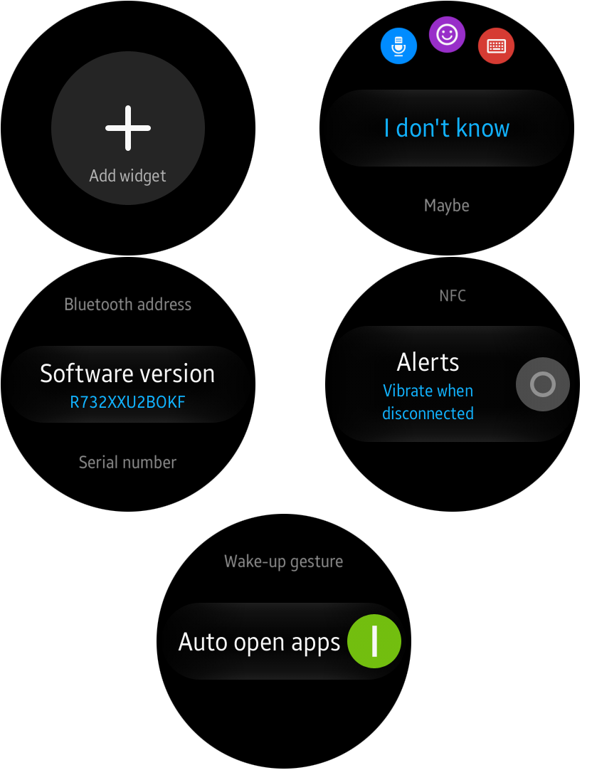 Samsung Gear S2 Firmware Update