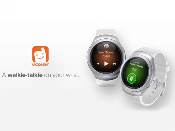 Voxer turns the Gear S2 into a walkie talkie - SamMobile