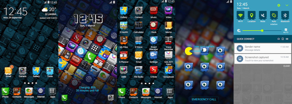 Samsung Galaxy Theme - Icon Friends THEMS