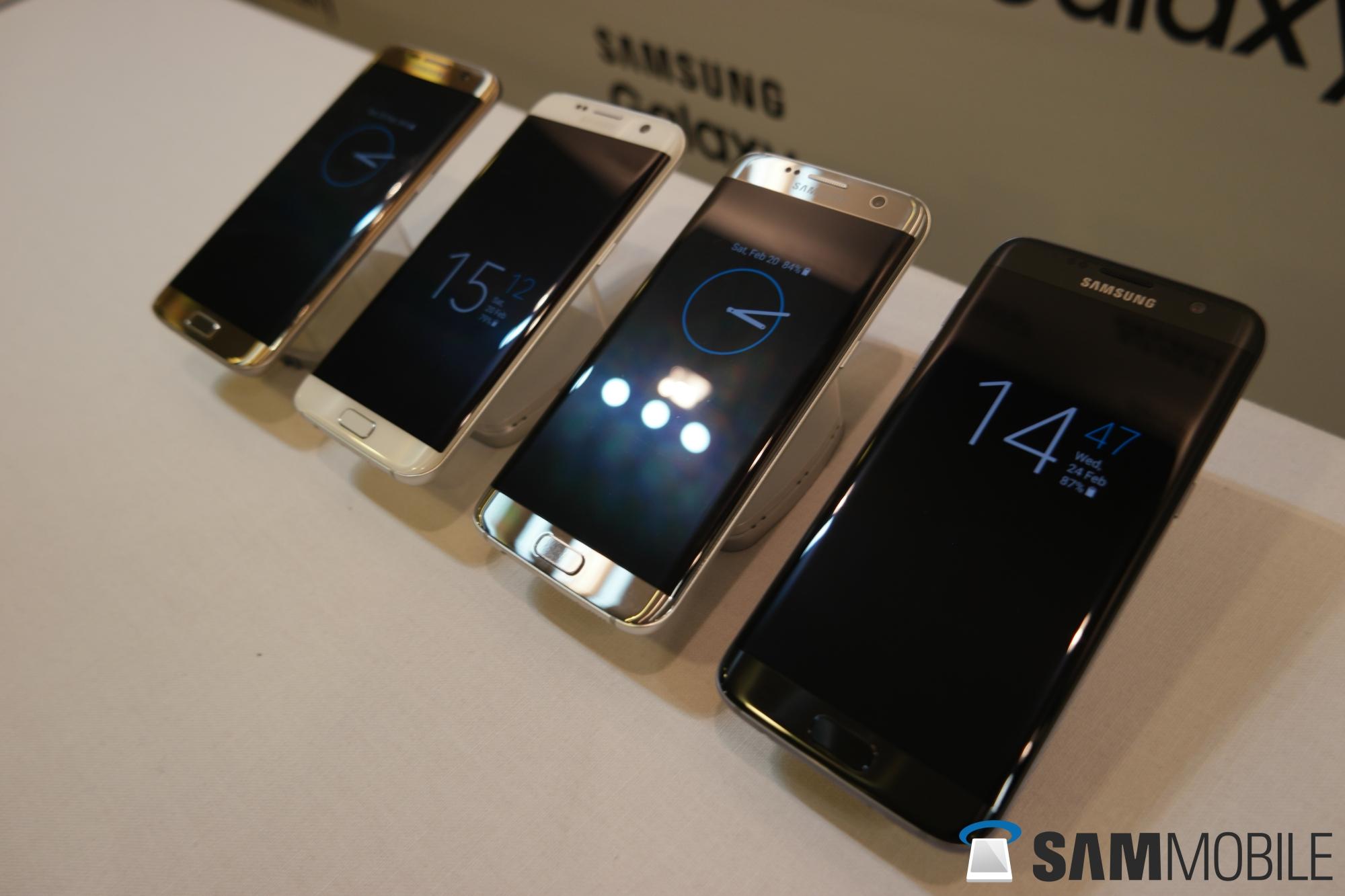 Samsung S7 Edge Black Pearl Price In India