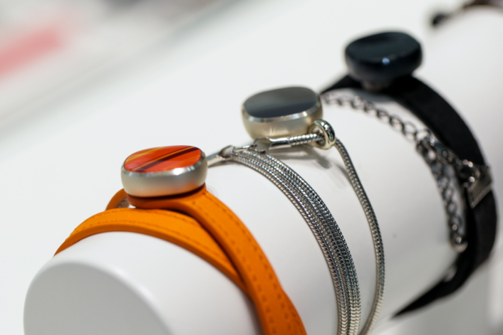 the samsung charm is a discreet fitness tracker for the