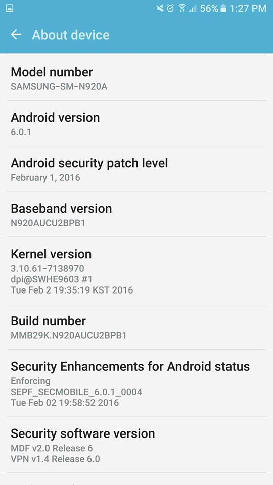 Android 6 0 beta update rolling out to some Galaxy Note 5