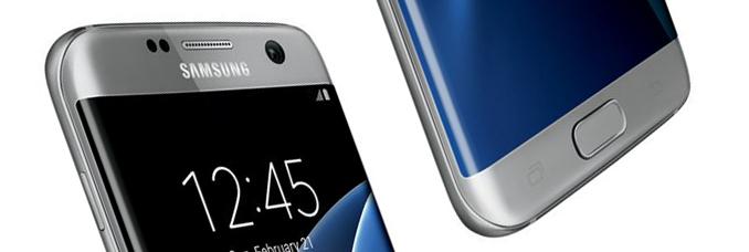 Samsung Galaxy S7 Edge Grey Press Render