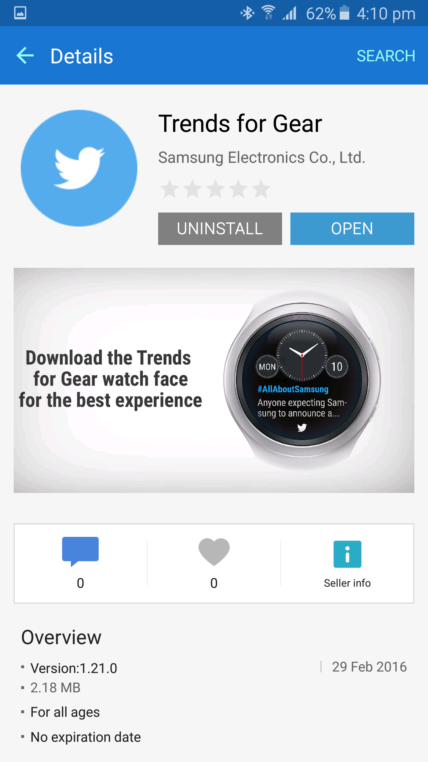Samsung brings Twitter trends to your wrist with new watch