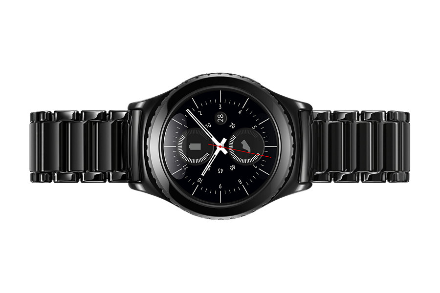 samsung introduces a very stylish ceramic bracelet for the gear s2 sammobile sammobile. Black Bedroom Furniture Sets. Home Design Ideas