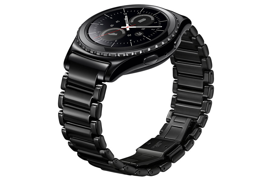 Samsung introduces a very stylish ceramic bracelet for the ...