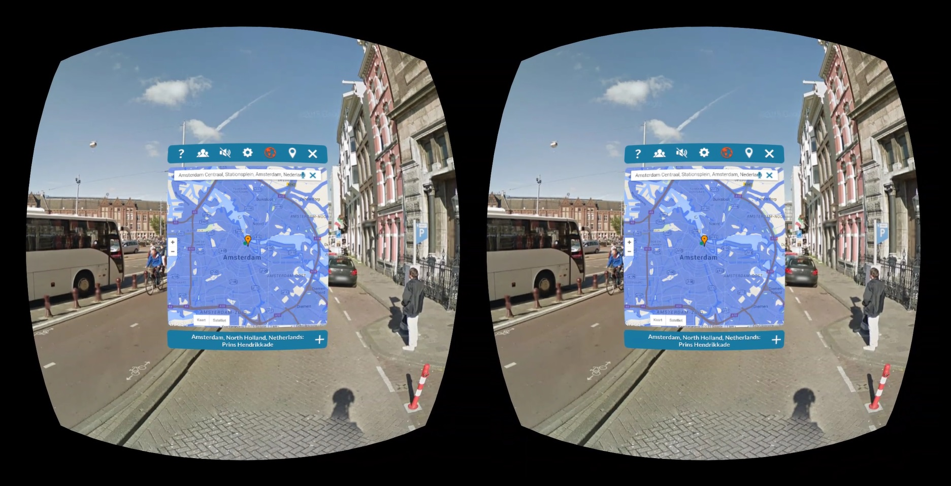 Google street view comes to the gear vr unofficially with for Goodl