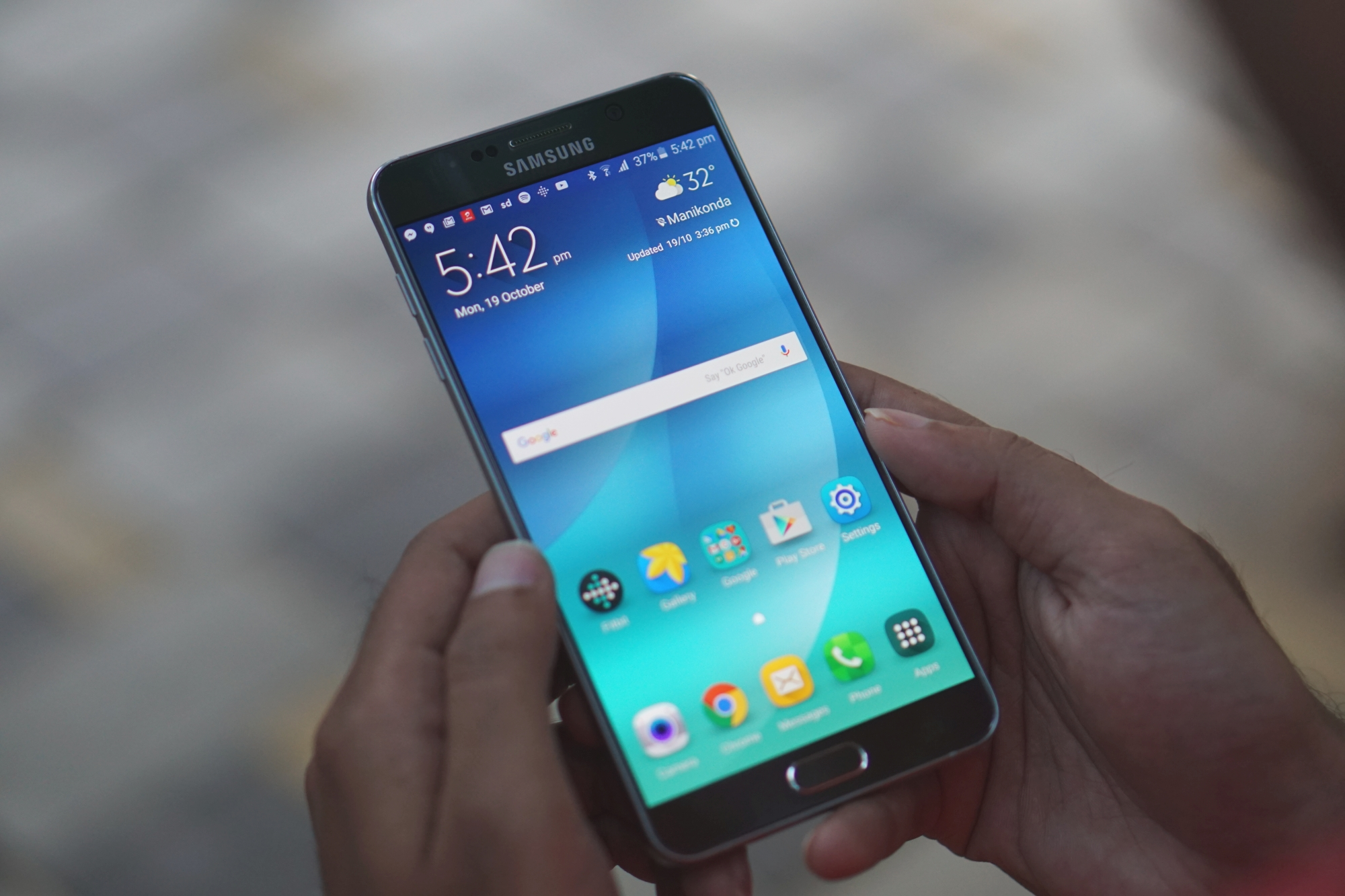 Marshmallow for the Galaxy Note 5 has quite a few issues