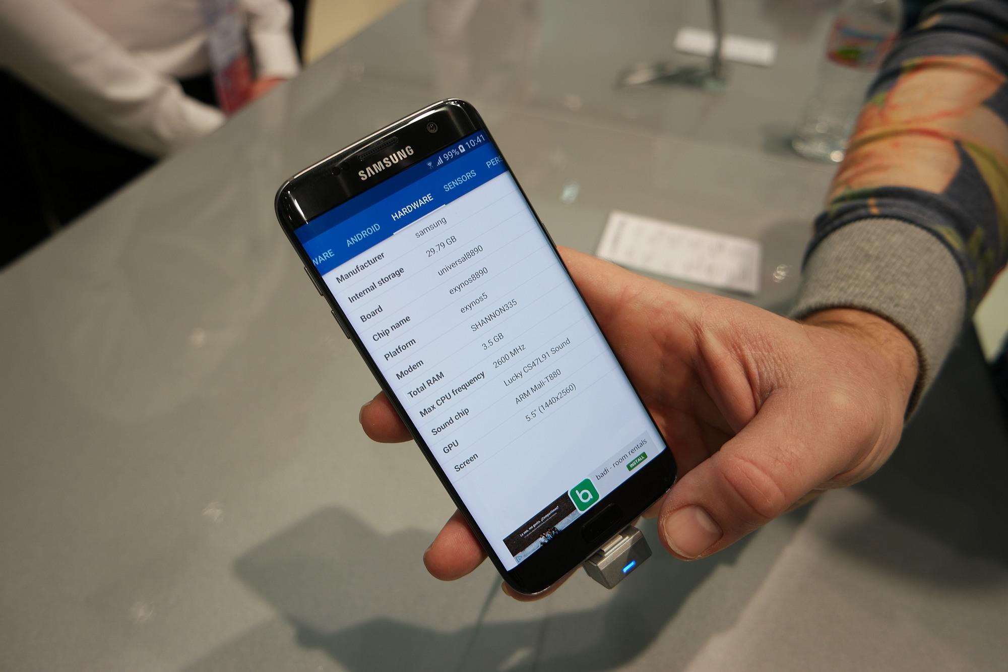 Galaxy S7 and Galaxy S7 edge use Sony IMX260 camera sensor