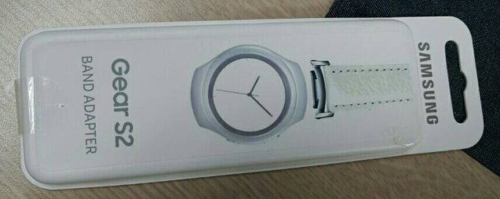 Gear S2 Band Adapter packaging