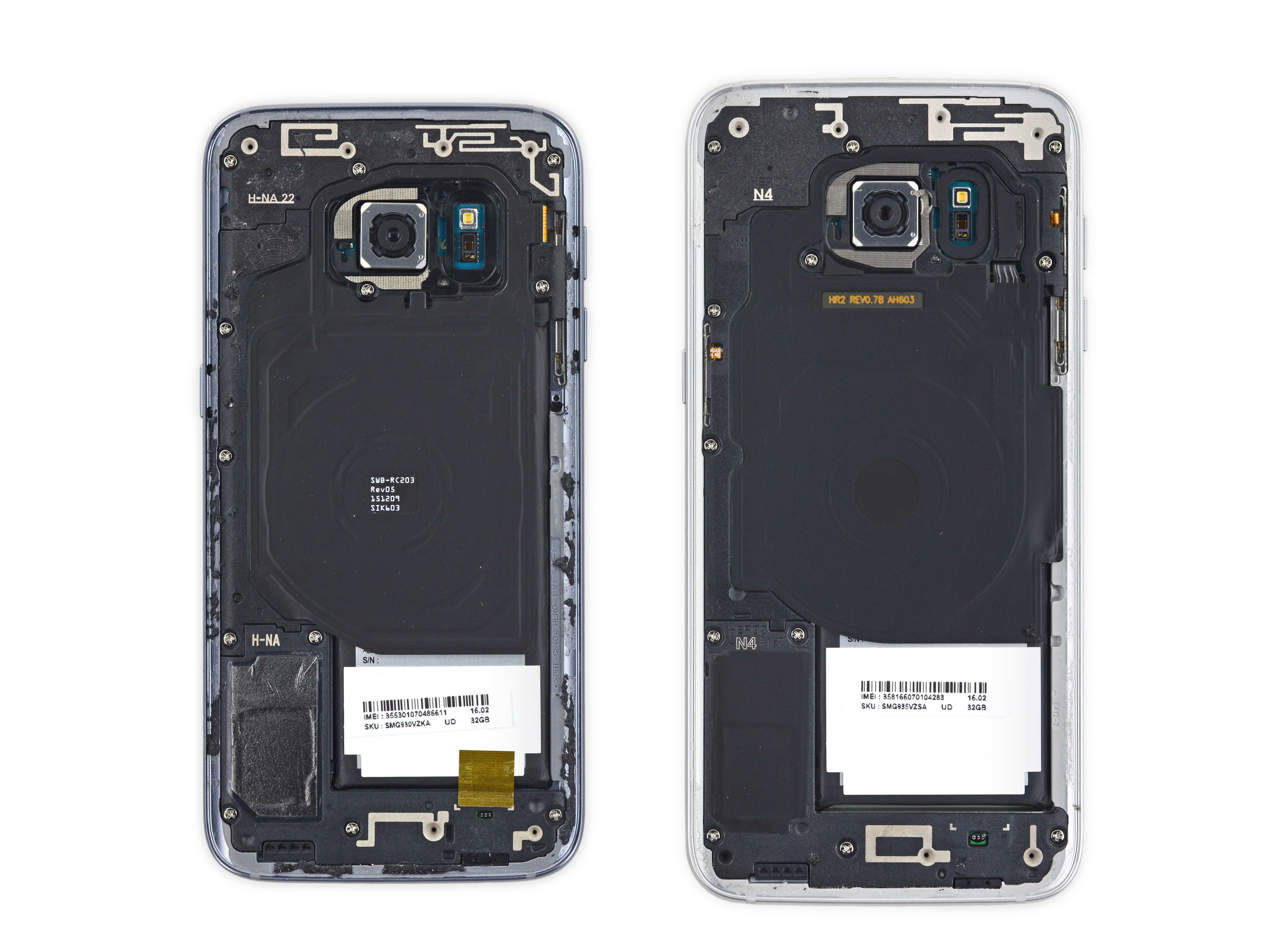 galaxy s7 edge gets the teardown treatment from ifixit sammobile sammobile. Black Bedroom Furniture Sets. Home Design Ideas