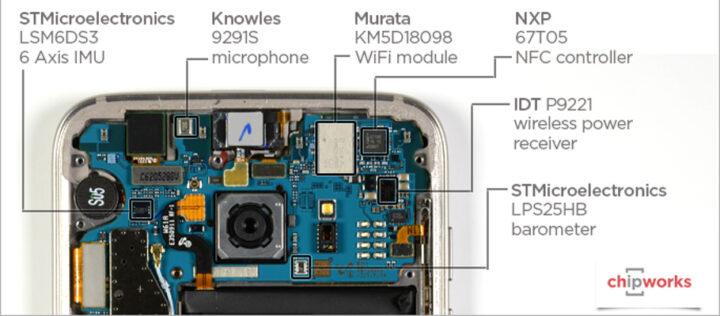 Samsung Galaxy S7 edge teardown reveals obvious things