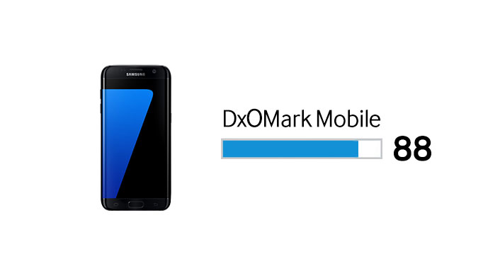 Samsung Galaxy S7 edge DxOMark Final Score