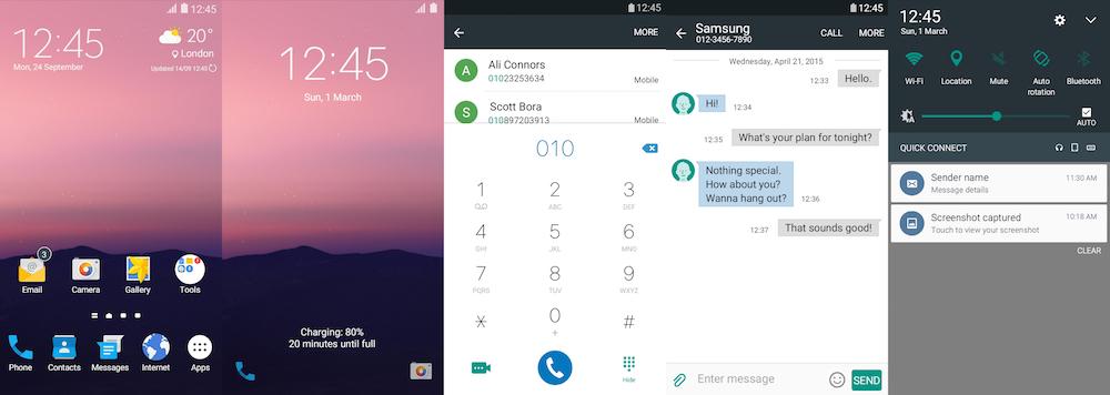 Samsung Galaxy Theme - Android N