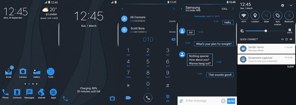 Samsung Galaxy Theme - Blix