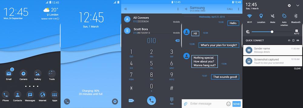 Samsung Galaxy Theme - Bluz
