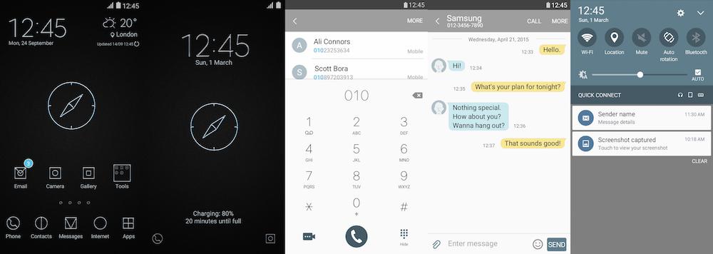 Samsung Galaxy Theme - [FEIT] Simple Metal Compass