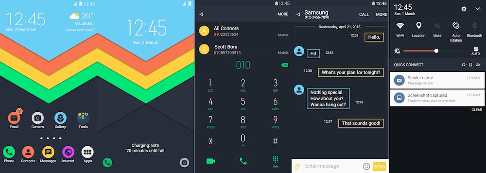 Samsung Galaxy Theme - Morfix