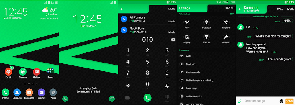 Samsung Galaxy Theme - Prime UI