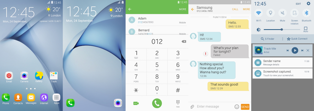 Samsung Galaxy Theme - TouchWiz 6.0