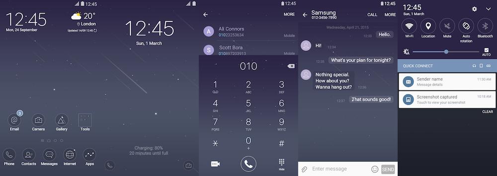 Samsung Galaxy Theme - [V] Silent Night